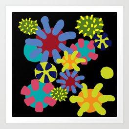 Undersea wonderworld Art Print