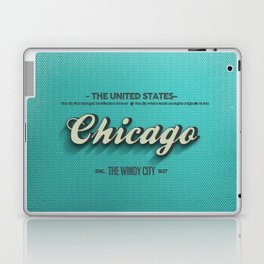 Vintage Chicago Laptop & iPad Skin