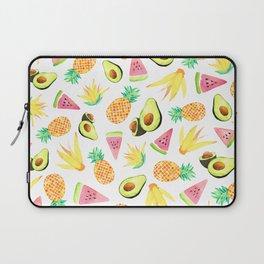 Tropical Fruit Salad Laptop Sleeve