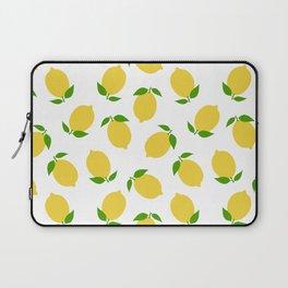 LEMON LEMONS FRUIT FOOD PATTERN Laptop Sleeve