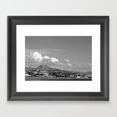 Managa Framed Art Print