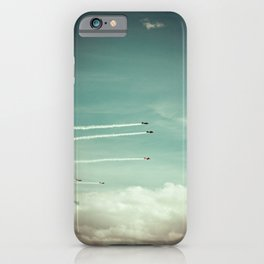 above the clouds iPhone Case