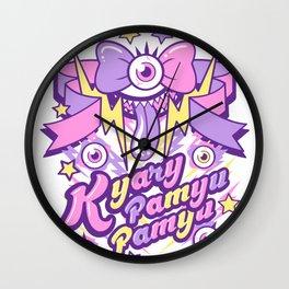 Kyary Pamyu Pamyu Print Wall Clock