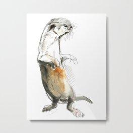 Totem Neotropical otter Metal Print