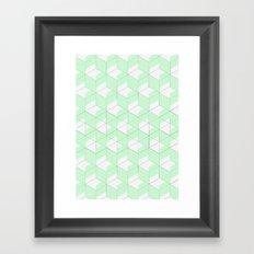 Mint Crush Framed Art Print