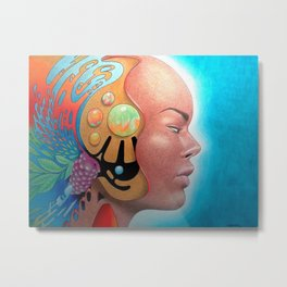 A Place In Your Head Metal Print