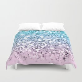 Dazzling Unicorn Gradient  Duvet Cover