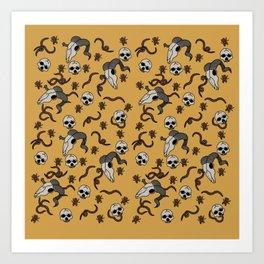 """""""Bewilder"""" Surface Design Art Print"""