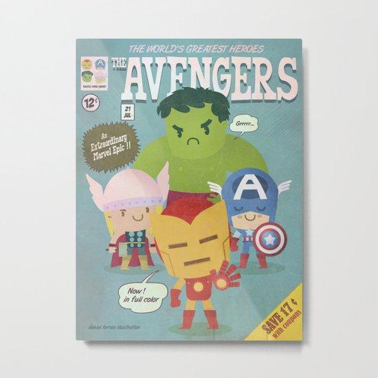 avengers fan art Metal Print