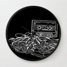 Noir Relax & Unwind Wall Clock