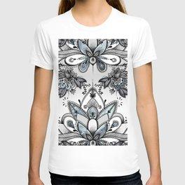 Denim Paisley T-shirt
