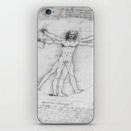 Vitruvian Man iPhone Skin