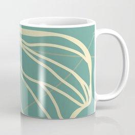 Ginkgo Leaf - Teal Dream Coffee Mug