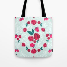 Roses & Berries Tote Bag
