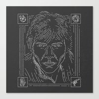 han solo Canvas Prints featuring Han Solo by Jon Deviny