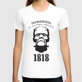 A Century of Horror Classics :: Frankenstein; Or, The Modern Prometheus T-shirt