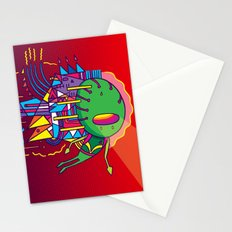 Alien Colors Stationery Cards