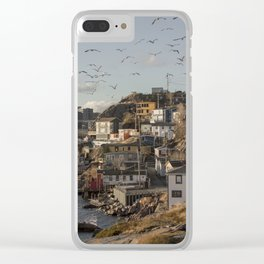 The Battery, St. John's, Newfoundland Clear iPhone Case