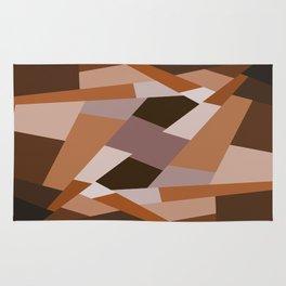 Browns Shape Pattern Rug