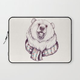 Bear & Scarf Laptop Sleeve