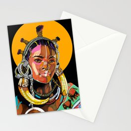 Queen is Black Stationery Cards