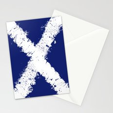 in to the sky, scotland Stationery Cards