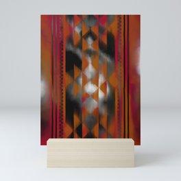 Boho Magic (red) Mini Art Print