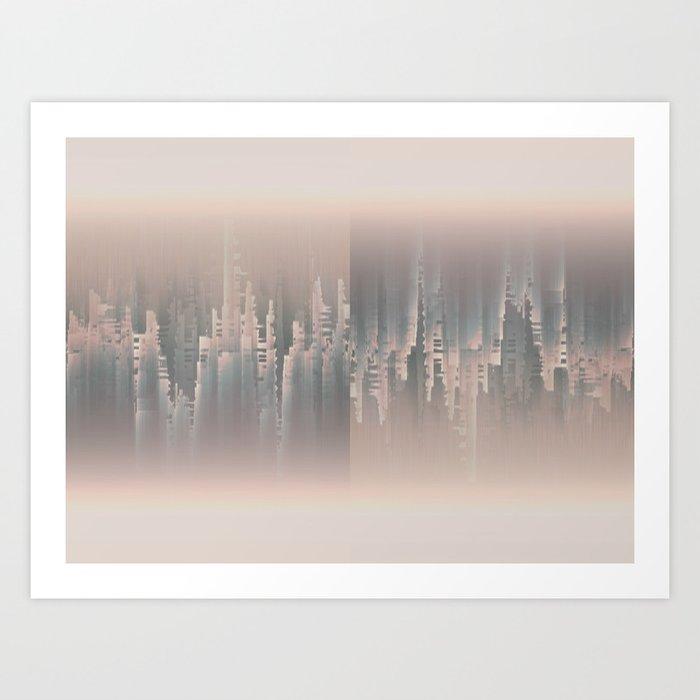 Reversible Space A+B Art Print