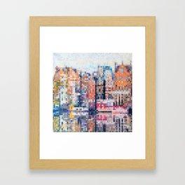 Amsterdam reflection Framed Art Print