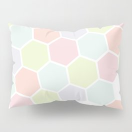 Pastel Buzz Pillow Sham