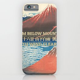 Views of Mount Fuji iPhone Case