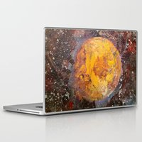 lunar Laptop & iPad Skins featuring Lunar  by Evan Hawley