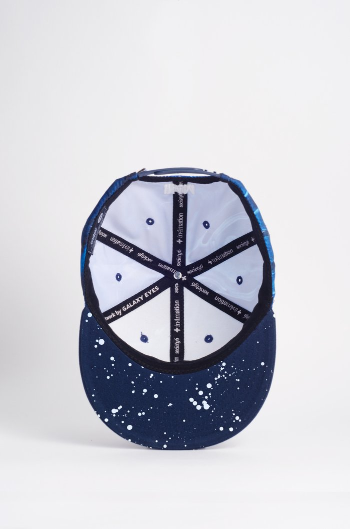 Snapback Hat: Galaxy Eyes (in4mation x Society6) Editions