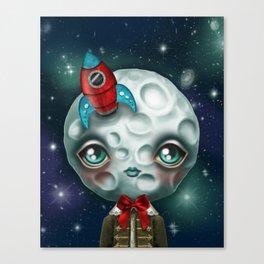 Moon Boy Canvas Print