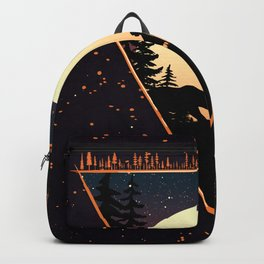 Forest Friends Moon Backpack