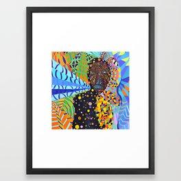 Jordan Rakei Framed Art Print