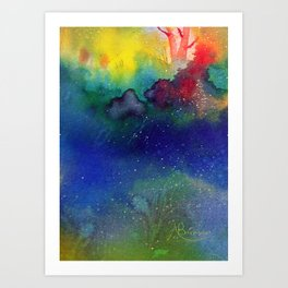 Playful Art Print