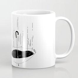 Bisognerebbe fare come il mare che gli piove dentro e poco gli importa Coffee Mug