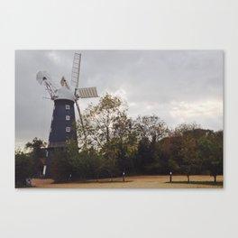 The Five Sailed Windmill III Canvas Print