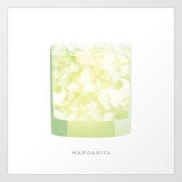 Cocktail Hour: Margarita Art Print