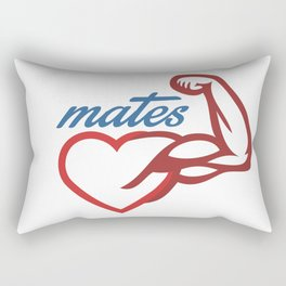 - Mates Rectangular Pillow