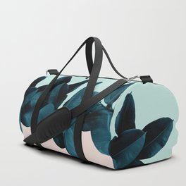 Blue Leaves Duffle Bag