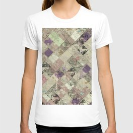 Abstract Geometric Background #25 T-shirt