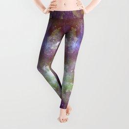 Purple & Gold Leggings