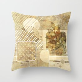 The old map . Grunge . Retro . Vintage . Throw Pillow