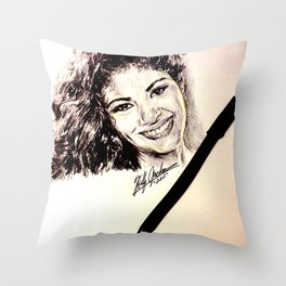 MEXICAN SINGER Throw Pillow