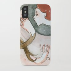 Free Time drawing iPhone X Slim Case