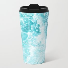 Perfect Sea Waves Metal Travel Mug
