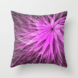 Abstract Flower6 Throw Pillow