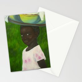 Black Girl Stationery Cards